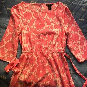 UNAVAILABLE ❌ H&M | Pink Floral Dress